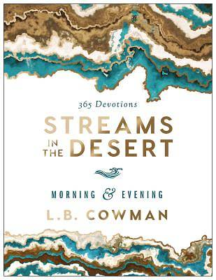 Picture of Streams in the Desert Morning and Evening