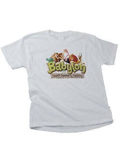 Picture of Group's Vacation Bible School 2012 Babylon Theme T-Shirt Adult (LG 42-44)