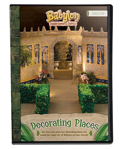 Vacation Bible School (VBS) 2018 Babylon Decorating Places DVD