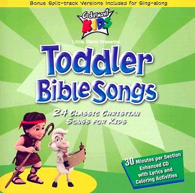 Toddler Bible Songs CD