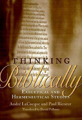 Thinking Biblically