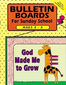 Sunday School Bulletin Board, Ages 2-3