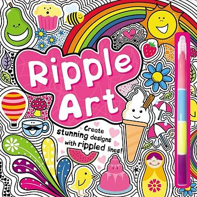 Ripple Art [With Multi-Colored Stacking Pen]