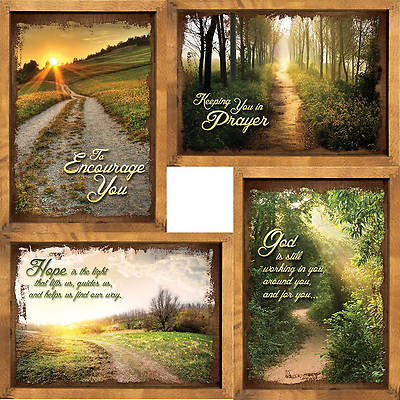 Picture of Peaceful Pathways - Encouragement Boxed Cards - Box of 12