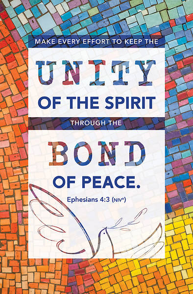 Picture of Peace in Unity General Regular Size Bulletin (Pkg of 100)