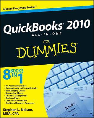 """Picture of QuickBooks """"X"""" All-In-One for Dummies"""