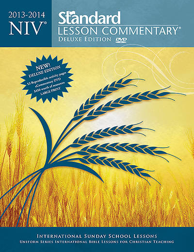 NIV Standard Lesson Commentary Deluxe Edition 2013-2014