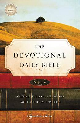 Devotional Daily Bible-NKJV-Signature
