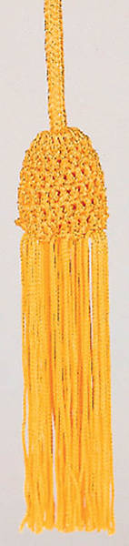 Gold Cincture with Tassel, 4 Yards
