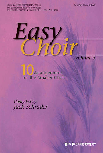Easy Choir Volume 5 Choral Book