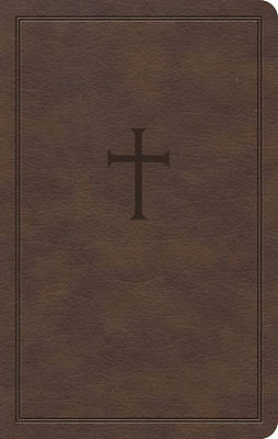 Picture of KJV Personal Size Bible, Brown Leathertouch