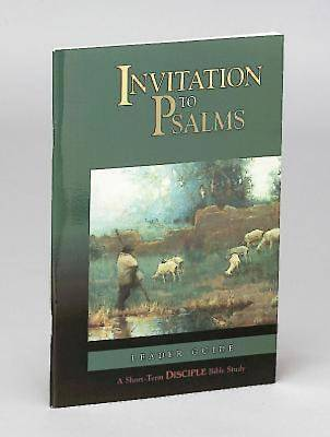 Picture of Invitation to Psalms: Leader Guide - eBook [ePub]