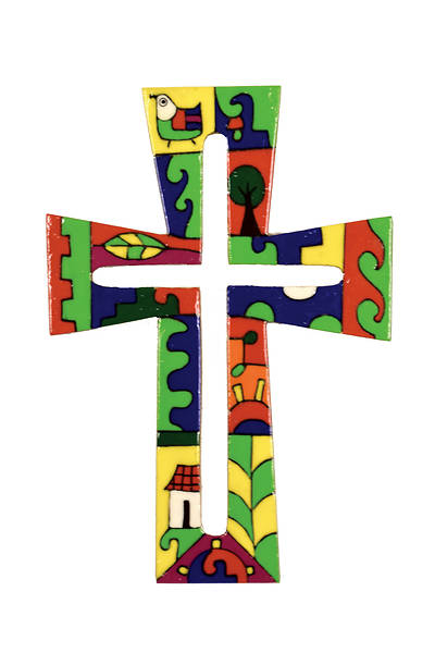 Picture of Keyhole Cut Out Cross 10""