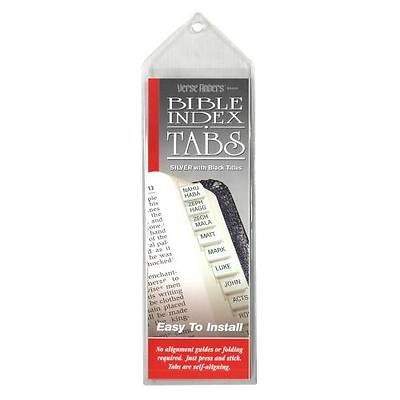 Verse Finder Bible Tabs - Horizontal Silver
