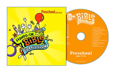 Picture of Hands-On Bible Curriculum Preschool CD Spring 2015