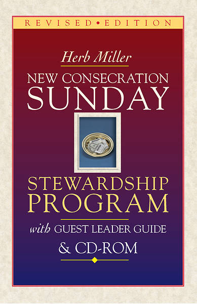Picture of New Consecration Sunday Stewardship Program with Guest Leader Guide & CD-ROM