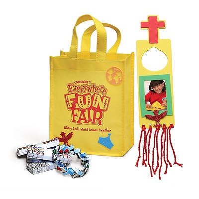 Vacation Bible School 2013 Everywhere Fun Fair Super Craft Kit