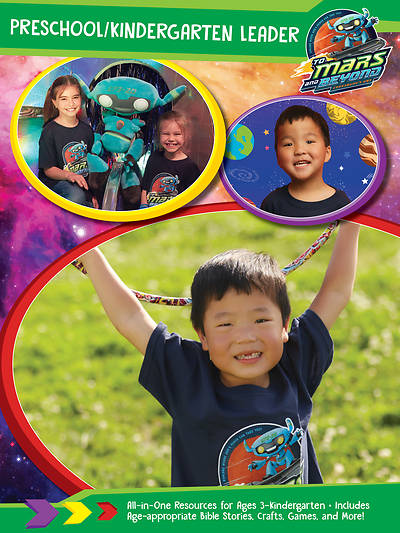 Picture of Vacation Bible School (VBS) 2019 To Mars and Beyond Preschool/Kindergarten Leader Download