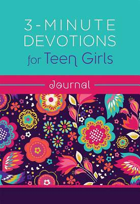 Picture of 3-Minute Devotions for Teen Girls Journal