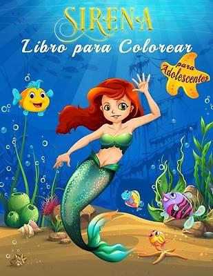 Picture of Sirena Libro para Colorear para Adolescentes