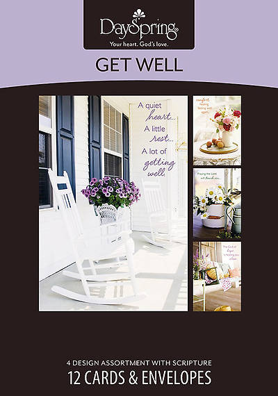 Picture of Sunny Days - Get Well Boxed Cards - Box of 12