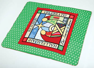 Picture of Fleece Christmas Throw