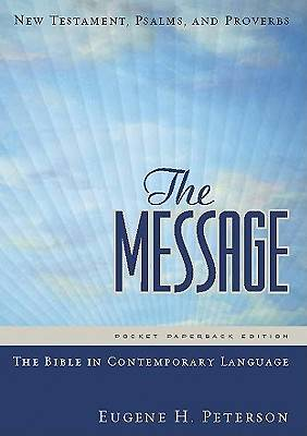 Picture of The Message Bible New Testament, Psalms, and Proverbs Pocket Paperback Edition