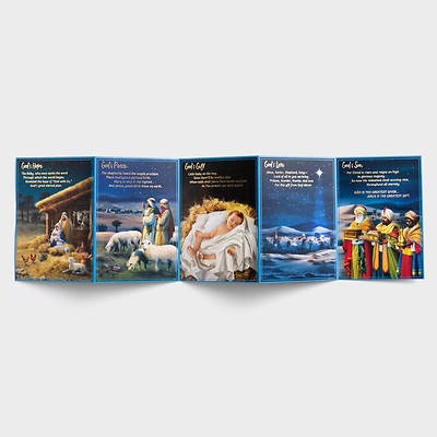 Picture of Christmas Story Five Panel Boxed Christmas Cards