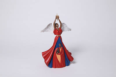 "Picture of Nativity Angel 15""H"