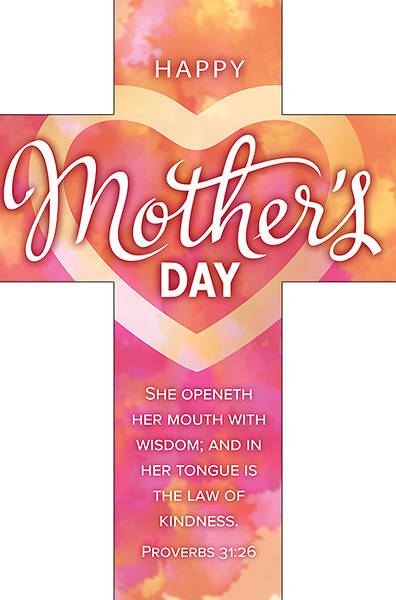 Picture of Happy Mother's Day Cross Bookmark