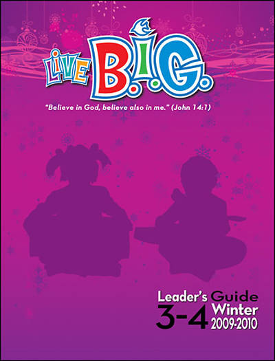 Picture of Live B.I.G. Ages 3-4 Leader Guide Winter