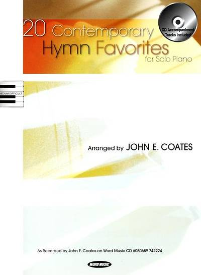 Picture of 20 Contemporary Hymn Favorites; For Solo Piano With CD (Audio)