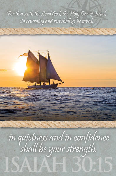 In Quietness and In Confidence General Worship Bulletin