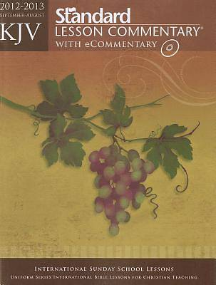 Standard Lesson Commentary KJV with Ecommentary 2012-2013