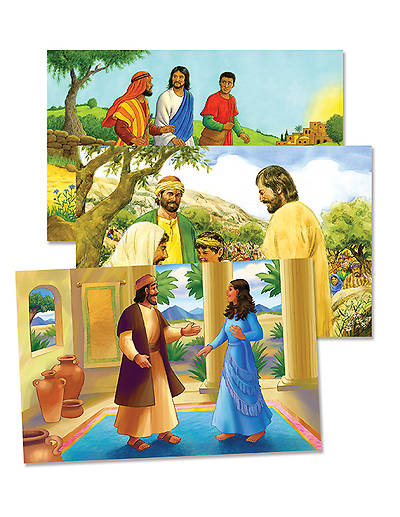 Vacation Bible School (VBS) 2014 Workshop of Wonders Bible Story Poster Set