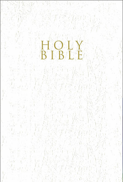 Picture of NIV, Gift and Award Bible, Leather-Look, White, Red Letter Edition, Comfort Print