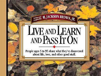 Picture of Live and Learn and Pass It on