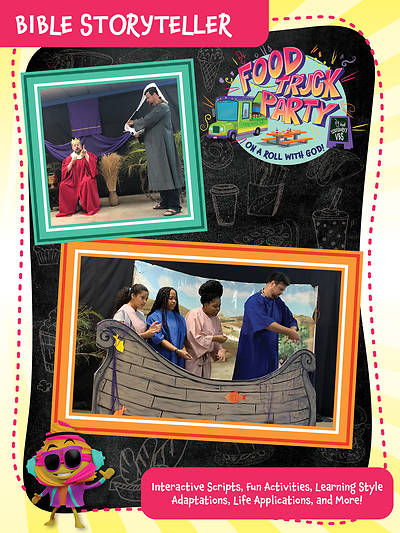 Picture of Vacation Bible School (VBS) Food Truck Party Bible Storyteller