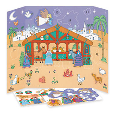 The Crib Advent Calendar with Stickers #CA638