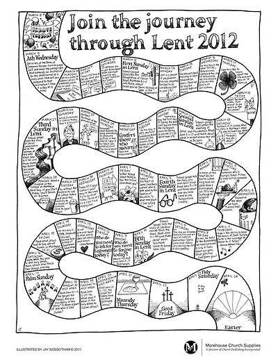 2012  Lenten Journey Poster (Package of 25)