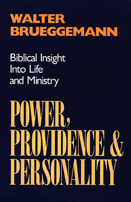 Picture of Power, Providence, & Personality