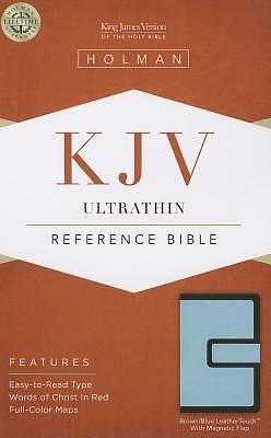 Ultrathin Reference Bible-KJV-Magnetic Closure