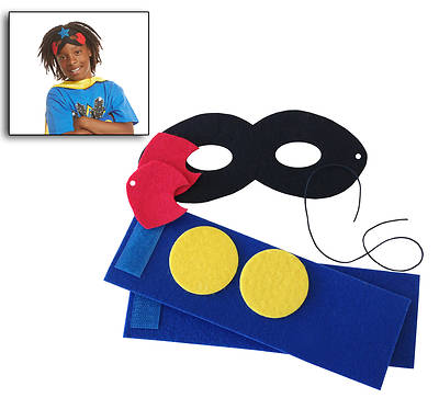 Vacation Bible School VBS Hero Central Hero Costume Kit (Pkg of 12)