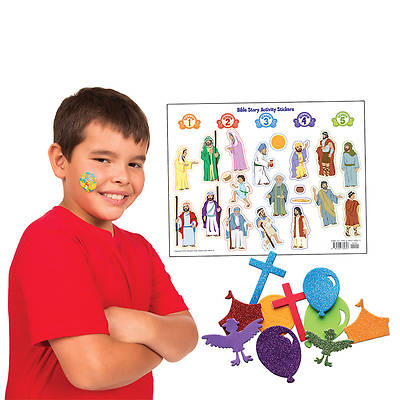 Vacation Bible School 2013 Everywhere Fun Fair Super Sticker Pack Kit