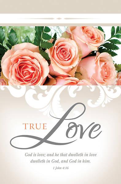 Picture of True Love Wedding Regular Size Bulletin