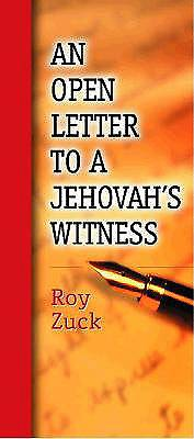 An Open Letter to a Jehovahs Witness [ePub Ebook]