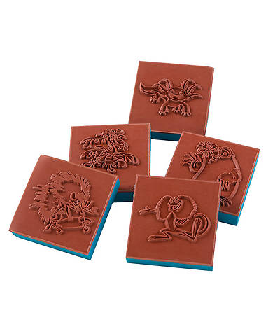 Group VBS 2014 Weird Animals Bible Memory Buddy Stampers Set of 5