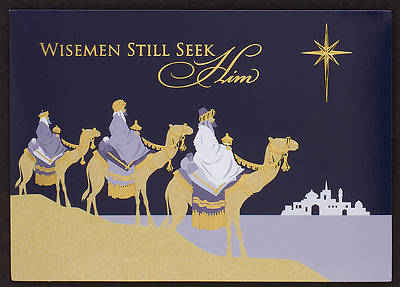 Wisemen Seek Him Boxed Cards
