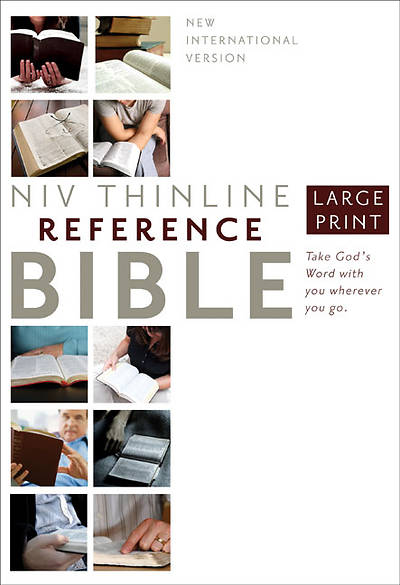 New International Version Thinline Reference Bible, Large Print