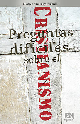 Picture of Preguntas Difciles Sobre El Cristianismo, Folleto (Tough Questions about Christianity Pamphlet)